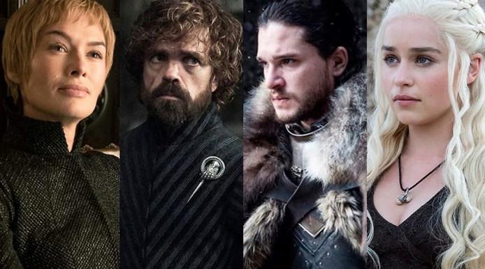 """Les acteurs de """"Game Of Thrones""""."""