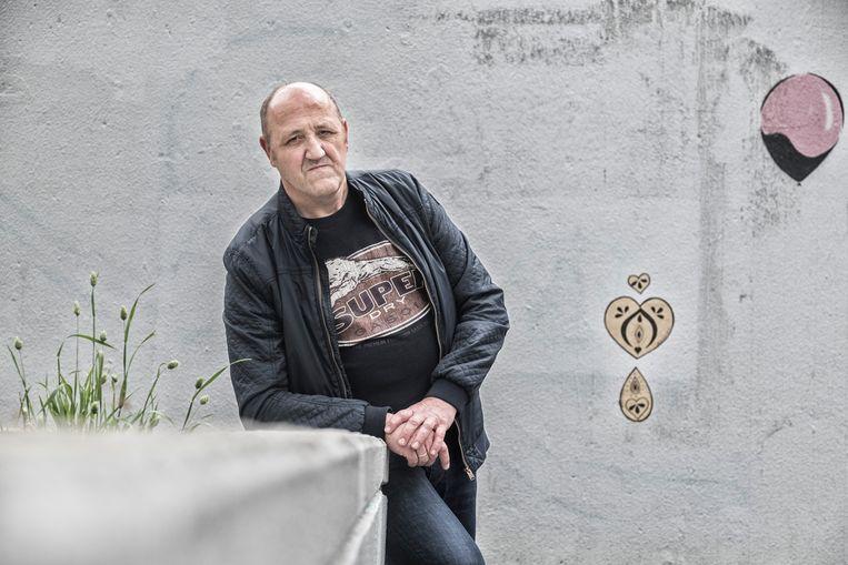 Yvan Pieters, vader van een geïnterneerde. Beeld Tim Dirven