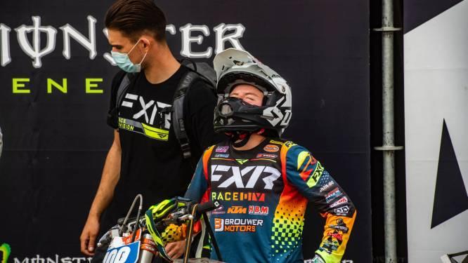 Apeldoornse motorcrosser Shana van der Vlist baalt na teleurstellend laatste WK-weekend, toch overall vijfde plek
