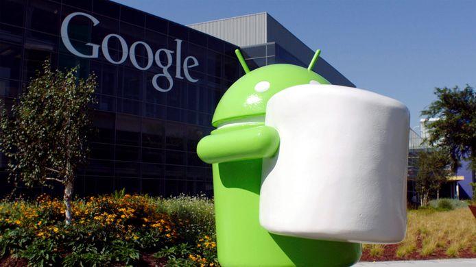 Het hoofdkwartier van Google in Los Angeles