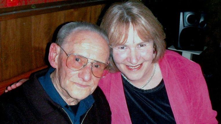 Lale Sokolov met auteur Heather Morris. Beeld Heather Morris/Sokolov familie
