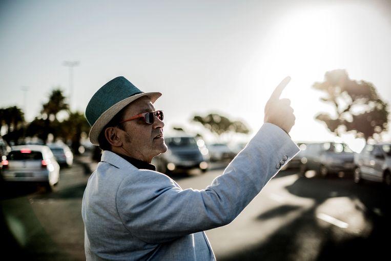 Lanoye: 'Ik heb mezelf beter leren inschatten door in Kaapstad te zijn.' Beeld Diego Franssens