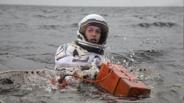 Anne Hathaway in 'Interstellar' van Christopher Nolan. Beeld