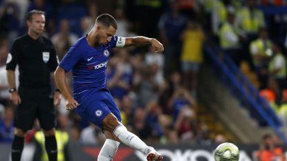 Komt er straks een penalty, geef je de bal maar beter aan Eden Hazard