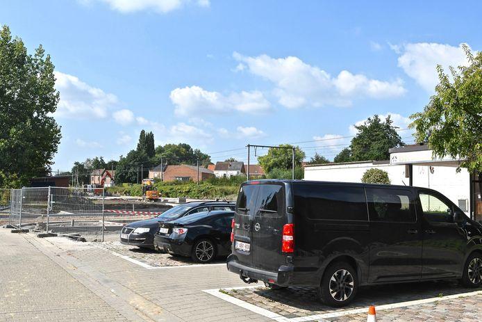De nieuwe parking in de Gasstraat komt naast de brandweerkazerne.