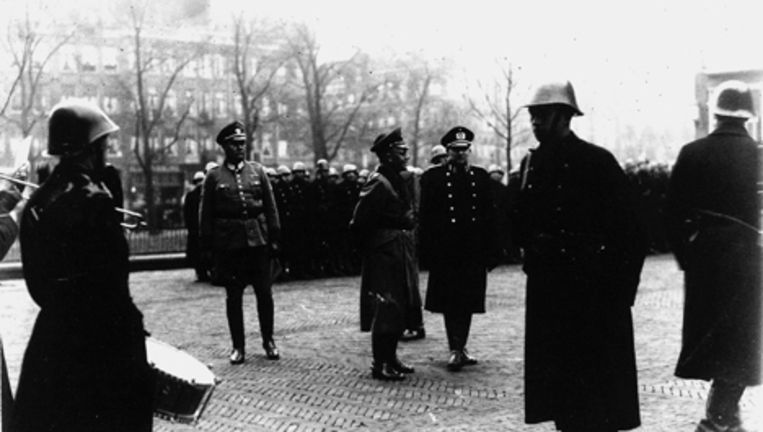 Een archieffoto uit de Tweede Wereldoorlog. Foto ANP Beeld