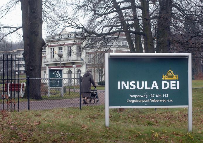 Verzorgingshuis Insula Dei in Arnhem. foto Hans Broekhuizen/DG