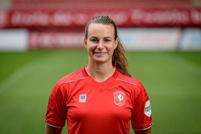 RenateJansen zette FC Twente Vrouwen op voorsprong.
