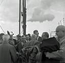 Willem Drees slaat de eerste paal voor de bouw van de Technische Hogeschool in Eindhoven. Tegenwoordig de TU/e