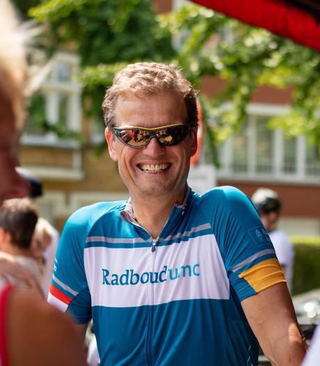 Kankeronderzoeker fietst dit keer zelf geld bij elkaar, een dag voor de Tour uit