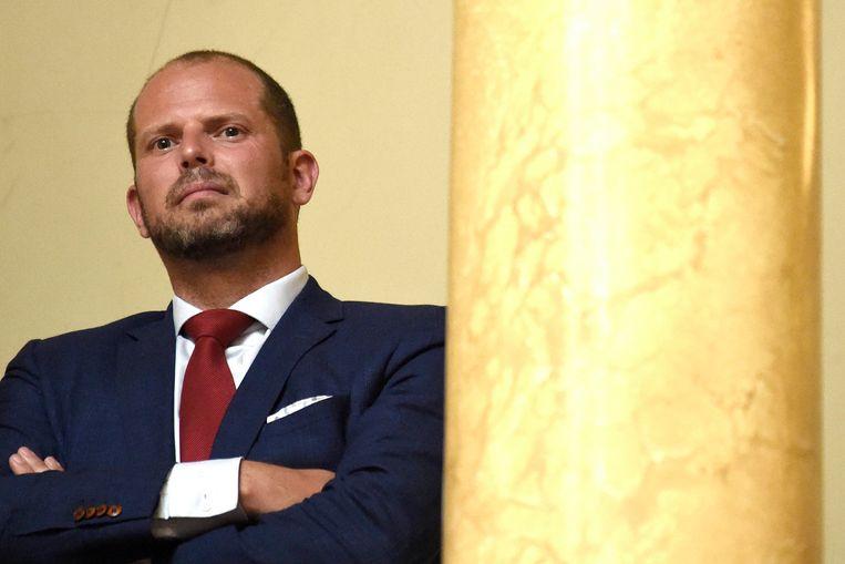 Voormalig staatssecretaris voor Asiel en Migratie Theo Francken (N-VA). Beeld Photo News