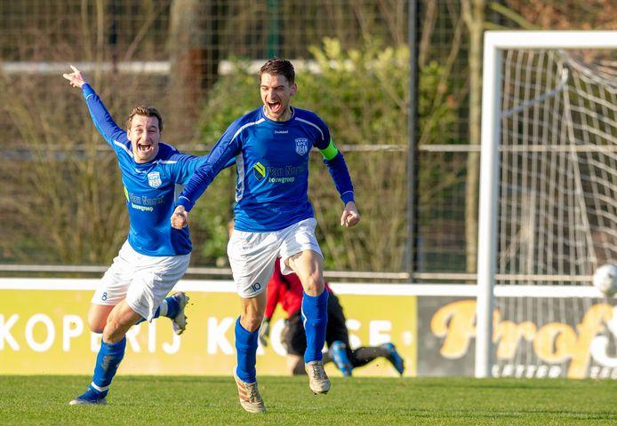 De spelers van SV Epe willen straks graag op zaterdag juichen.