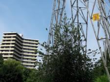 Hoogspanningskabels onder de grond in Wageningen