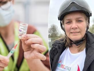 "Christine (55) nam deel aan studie rond tegenvallend vaccin Curevac: ""Teleurgesteld, maar toch ook jackpot"""