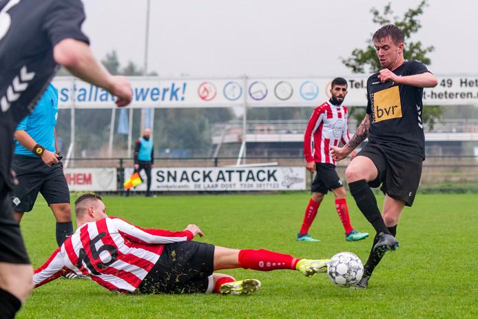 Matchwinnaar Stefan Ordelman houdt op inzet Desney Jansen tegen