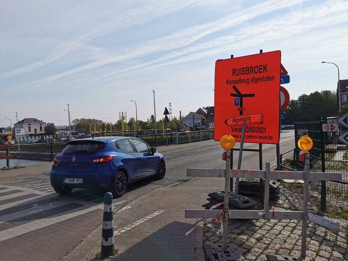 De werken aan het Sasplein in Ruisbroek starten pas volgende week maandag.