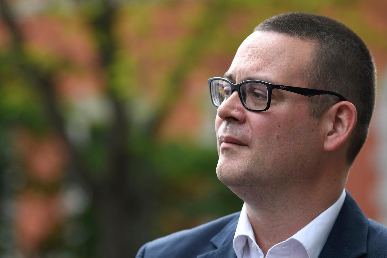 Raoul Hedebouw, porte-parole du PTB.