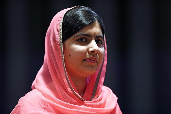 De Nobelprijswinnares Malala Yousafzai.