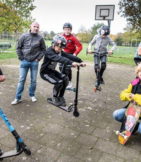 De step is hot: kinderen uit Alverna willen hun eigen skatebaan!