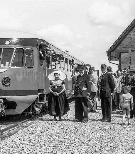 150 jaar spoorlijn tussen Roosendaal en Vlissingen, in 1875 deden reizigers 2 uur en 45 minuten over het traject