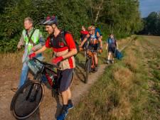 Mountainbikers zorgen voor schone bossen rond Nijmegen