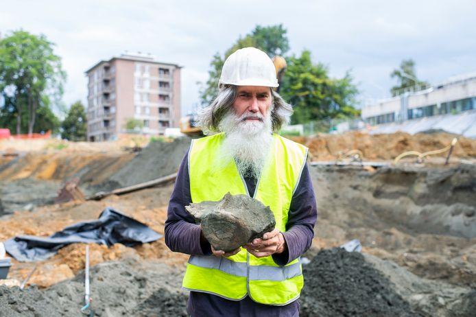 Paleontoloog Mark Bosselaers