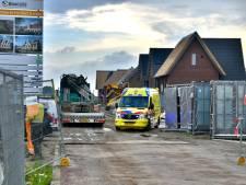 Bouwvakker zwaargewond bij ongeval op nieuwbouwplaats in  Hoef en Haag