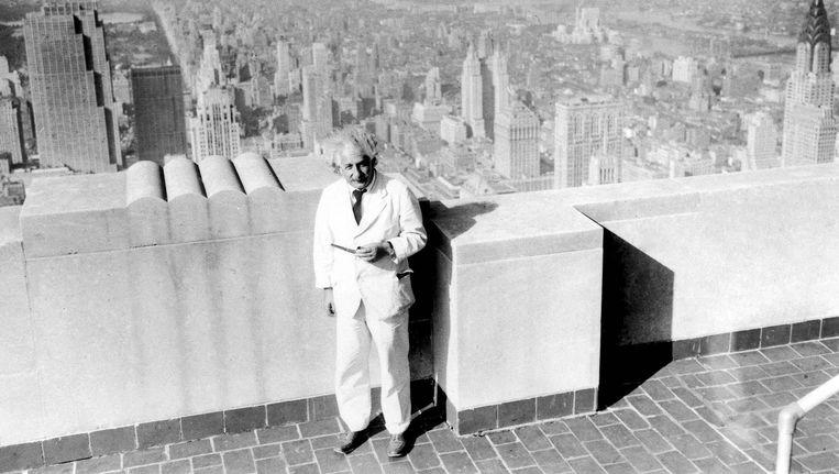 Albert Einstein verliet nazi-Duitsland in 1933 en week uit naar de Verenigde Staten Beeld Princeton University