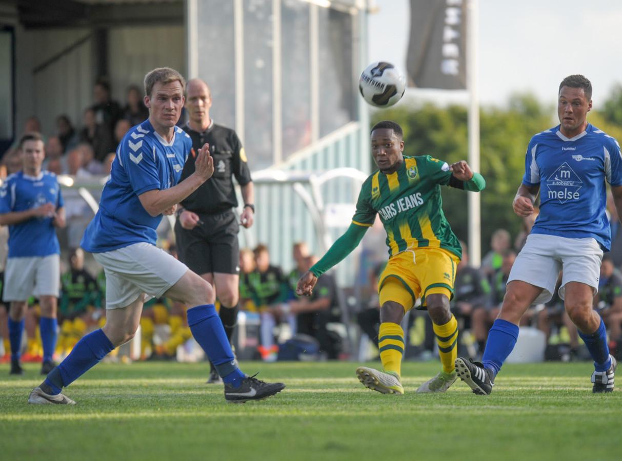In 2017 won ADO Den Haag met 0-7 van Serooskerke.