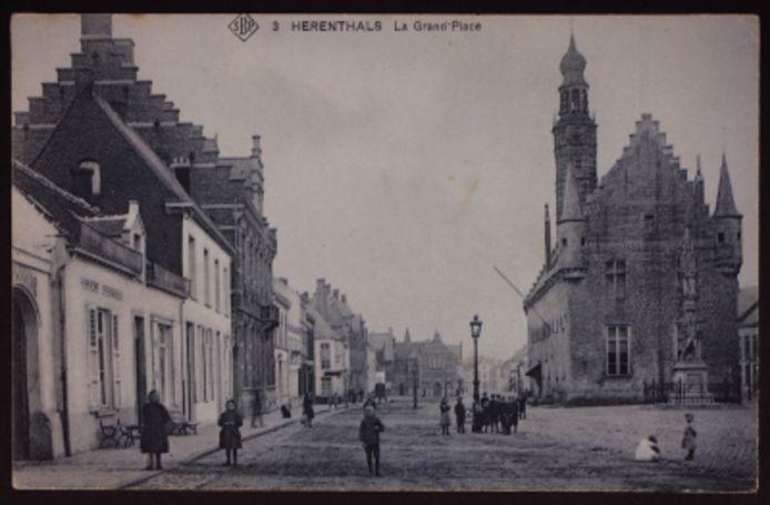 Het oude stadscentrum van Herentals