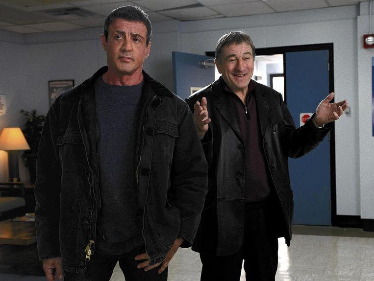 Sylvester Stallone en Robert De Niro in Grudge Match van Peter Segal. Beeld