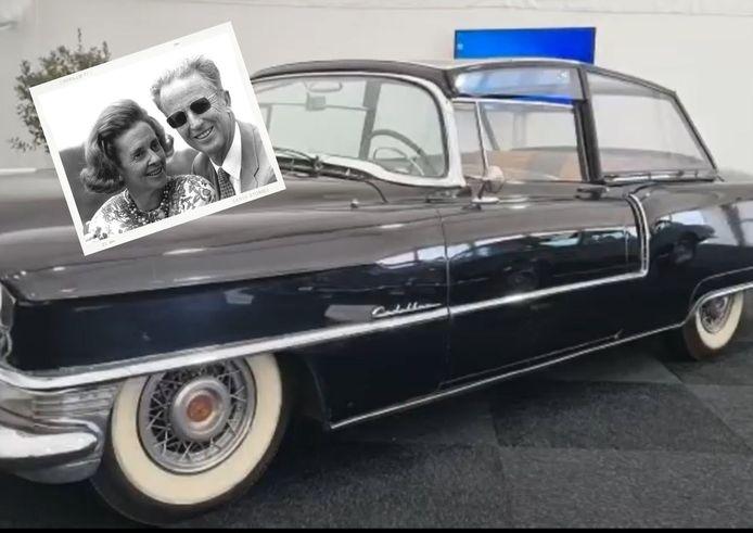 La voiture du mariage du roi Baudouin et de la reine Fabiola aux enchères.