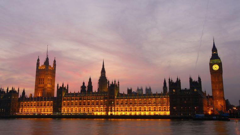 Het Britse parlementsgebouw in Londen. Beeld thinkstock