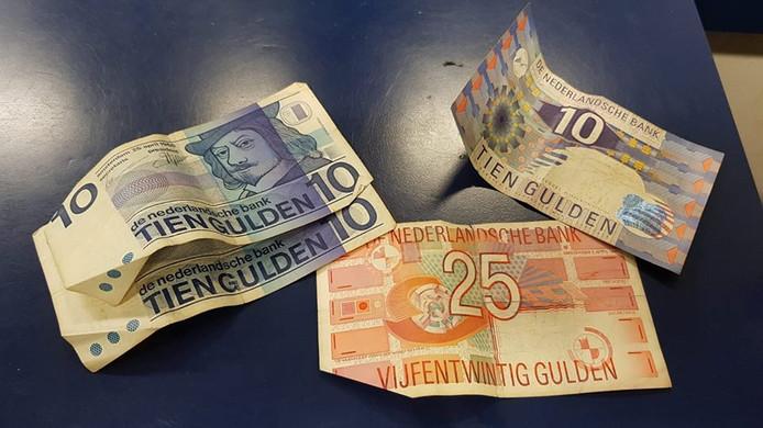 Briefgeld van voor de euro.