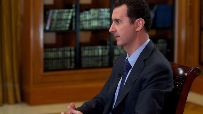 de Syrische president Bashar al-Assad