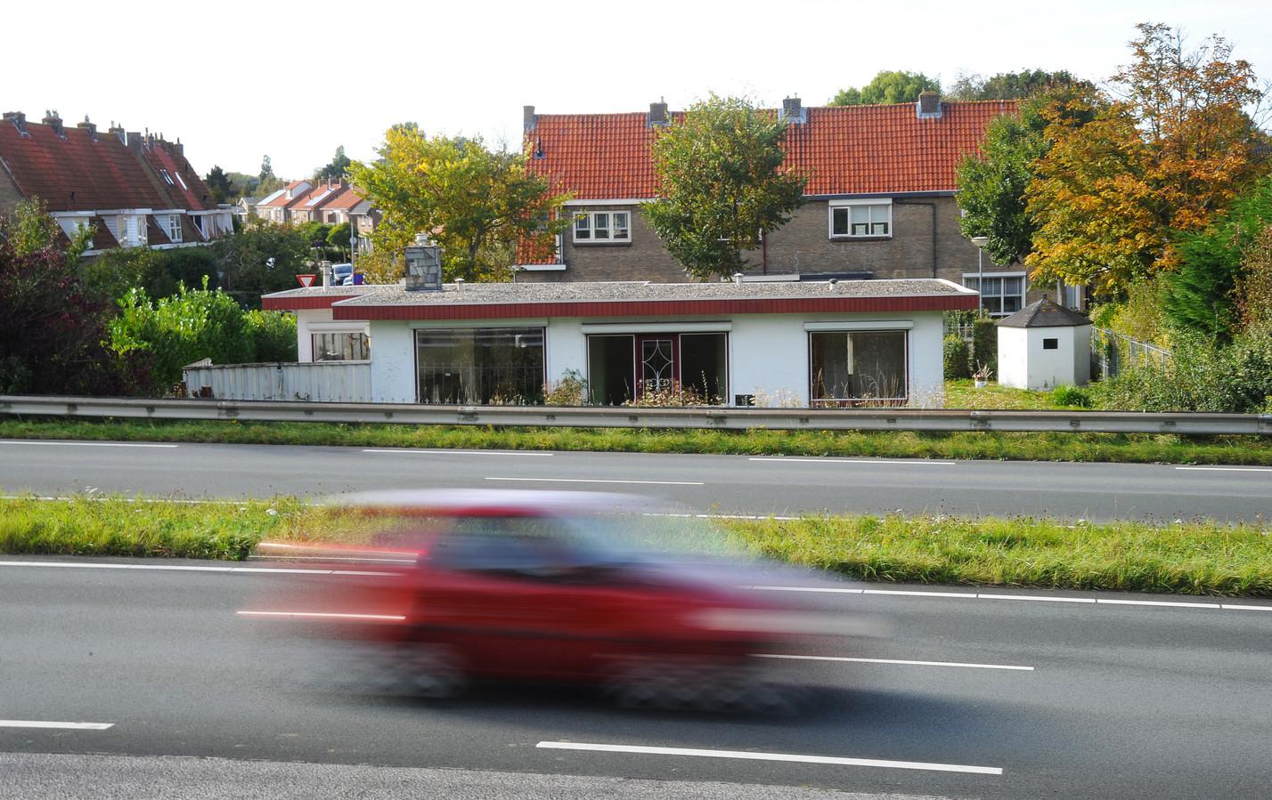 Op de Nieuwe Vlissingseweg wordt vaak hard gereden.