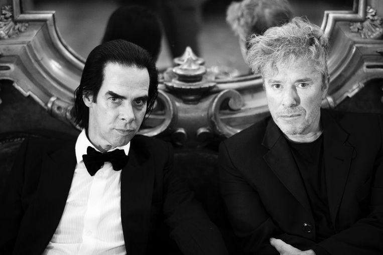 Nick Cave & Nicholas Lens. Beeld Fabrice Giraud