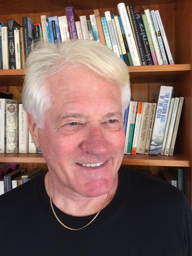 Russell Blackford: 'Ik ben blij dat we homoseksualiteit aanvaarden, dat we het homohuwelijk erkend hebben. Maar ik vind niet dat je mensen moet verbieden om te zeggen dat de homoseksuele daad zondig is.' Beeld RV
