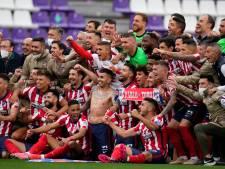 L'Atlético et Carrasco sacrés champions d'Espagne