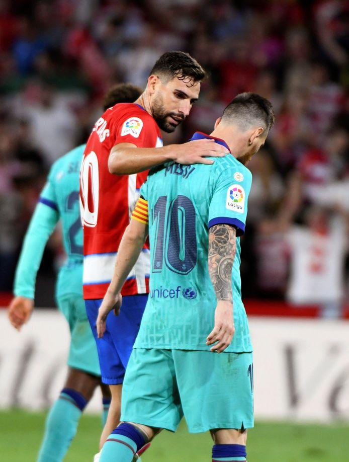 Messi réconforté par Puertas