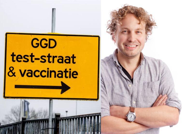 Je zult maar bij de GGD zijn gaan werken om de maatschappij een beetje te helpen, dacht columnist Niels Herijgens, en nu merken dat je voor sommige mensen de grote vijand bent.