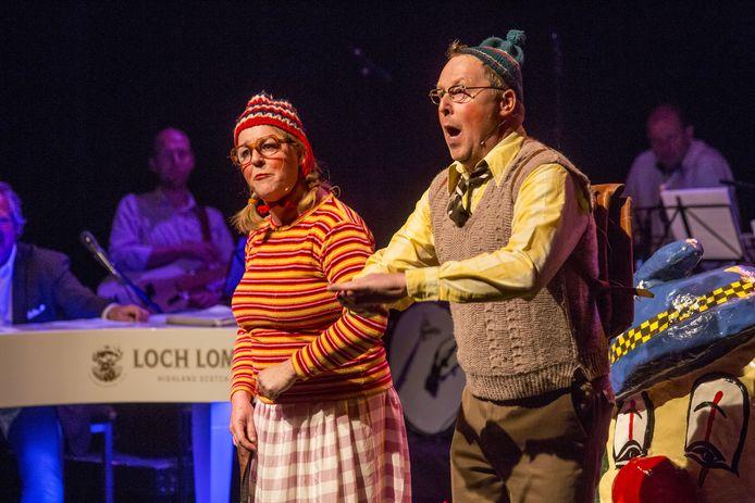 Het laatste Buutfestival in De Bond werd vorig jaar gewonnen door Jan en Anita ten Bokum (Remi en Remia).