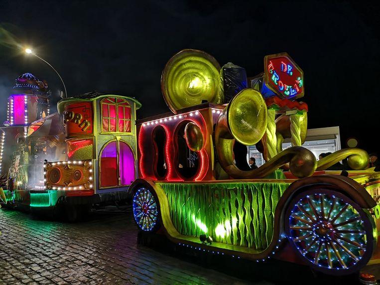 De carnavalisten gaven het beste van zichzelf.
