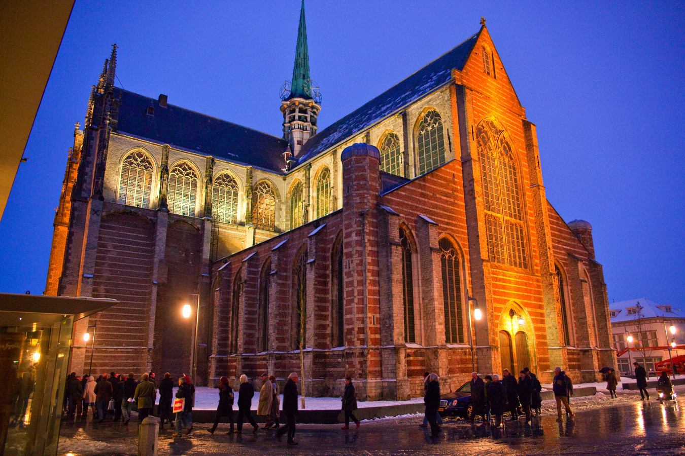 De Grote Kerk in Goes.