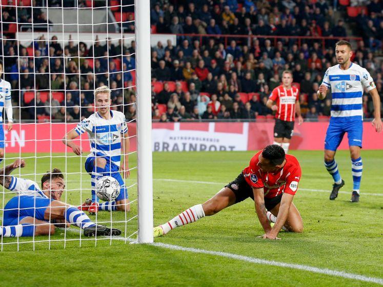LIVE | Stunt hangt in de lucht in Eindhoven, PSV nog altijd op achterstand tegen PEC Zwolle