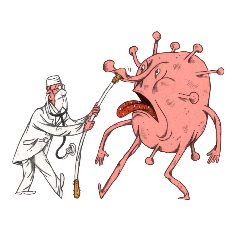 'Het is zeker geen normaal griepje gebleken' Beeld Lukas Verstraete