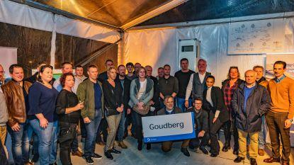 Nieuwe ondernemers heffen het glas op nieuw lokaal bedrijventerrein
