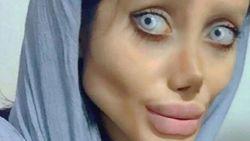 """Waarheid achter Sahar """"die 50 operaties onderging om op Angelina Jolie te lijken"""""""