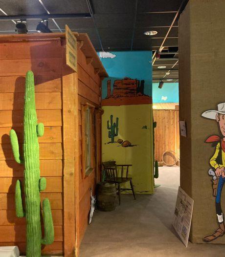 La Fête de la BD s'ouvre aux quatre coins de Bruxelles: pénétrez dans un saloon guidé par Lucky Luke et Jolly Jumper
