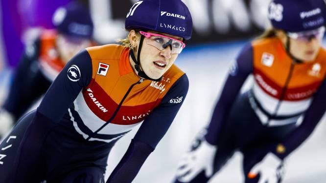 Shorttrackster Schulting ook de beste op 1000 meter in Heerenveen